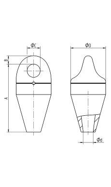 CRX Mooring Socket