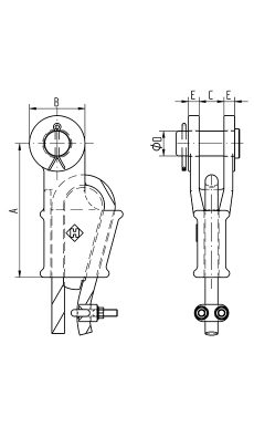 Open Wedge Socket with pin